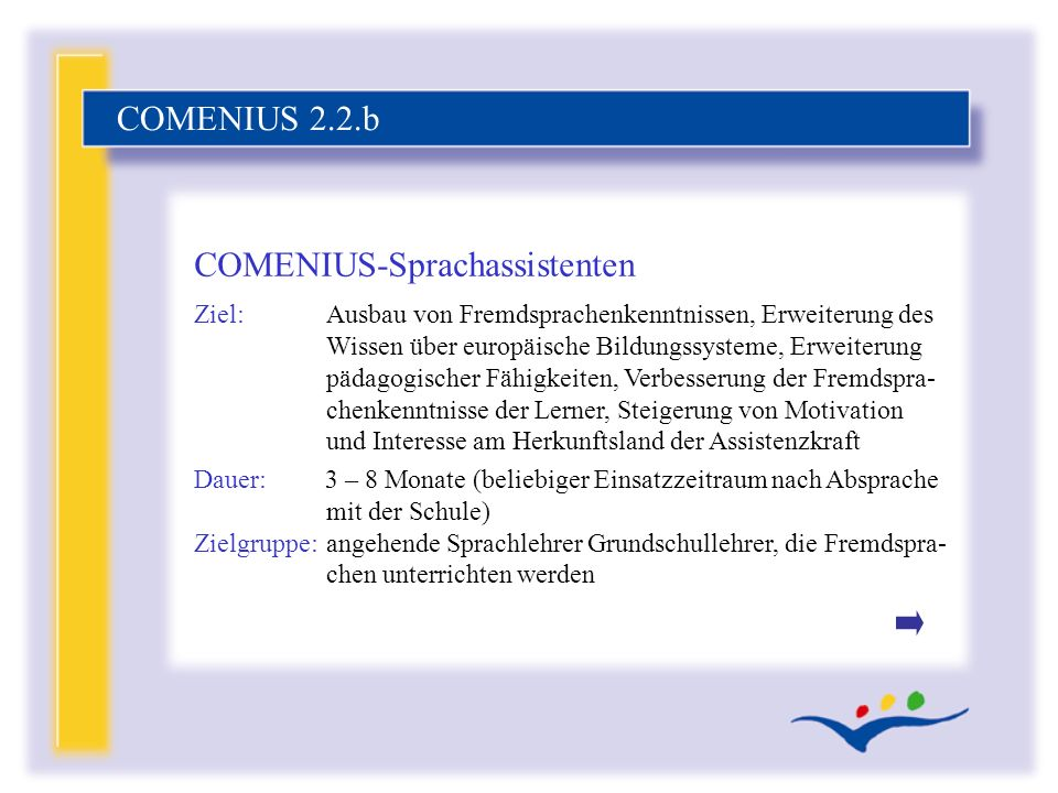 COMENIUS-Sprachassistenten