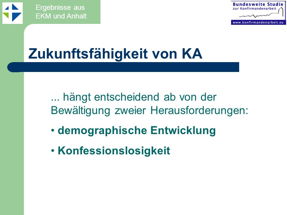 Zukunftsfähigkeit von KA