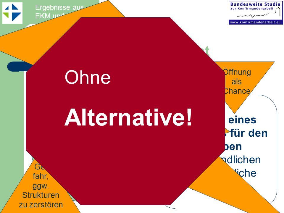 Alternative! Ohne Perspektiven für eine Mileuüberwindung: Spagat