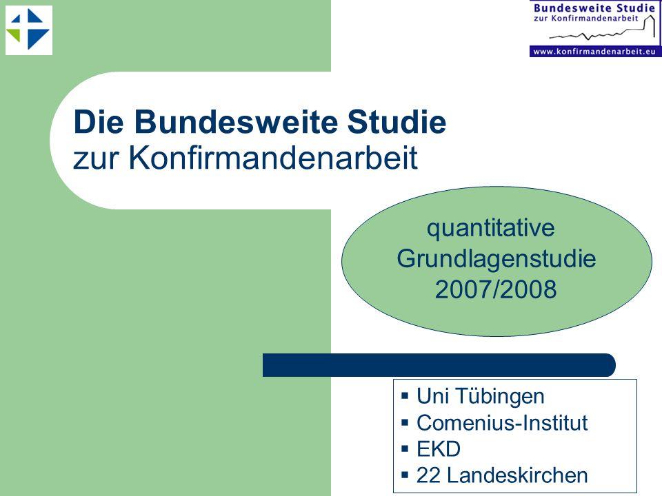 quantitative Grundlagenstudie 2007/2008