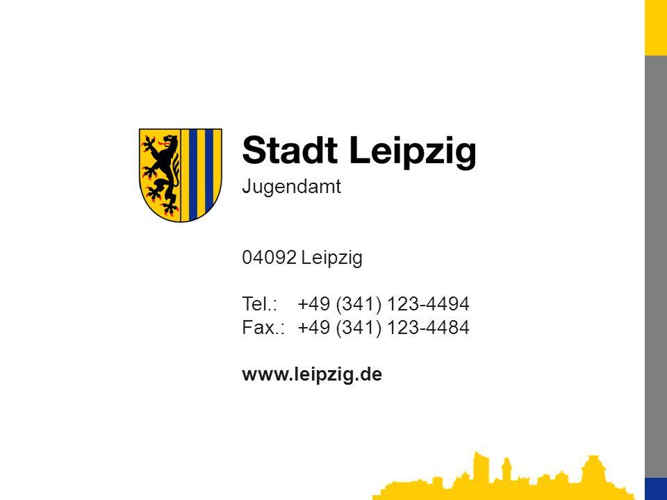 Jugendamt 04092 Leipzig Tel.: +49 (341) 123-4494
