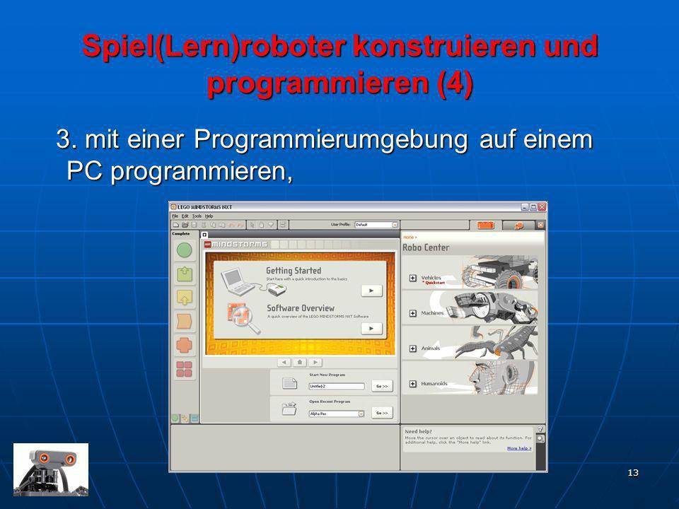 Spiel(Lern)roboter konstruieren und programmieren (4)