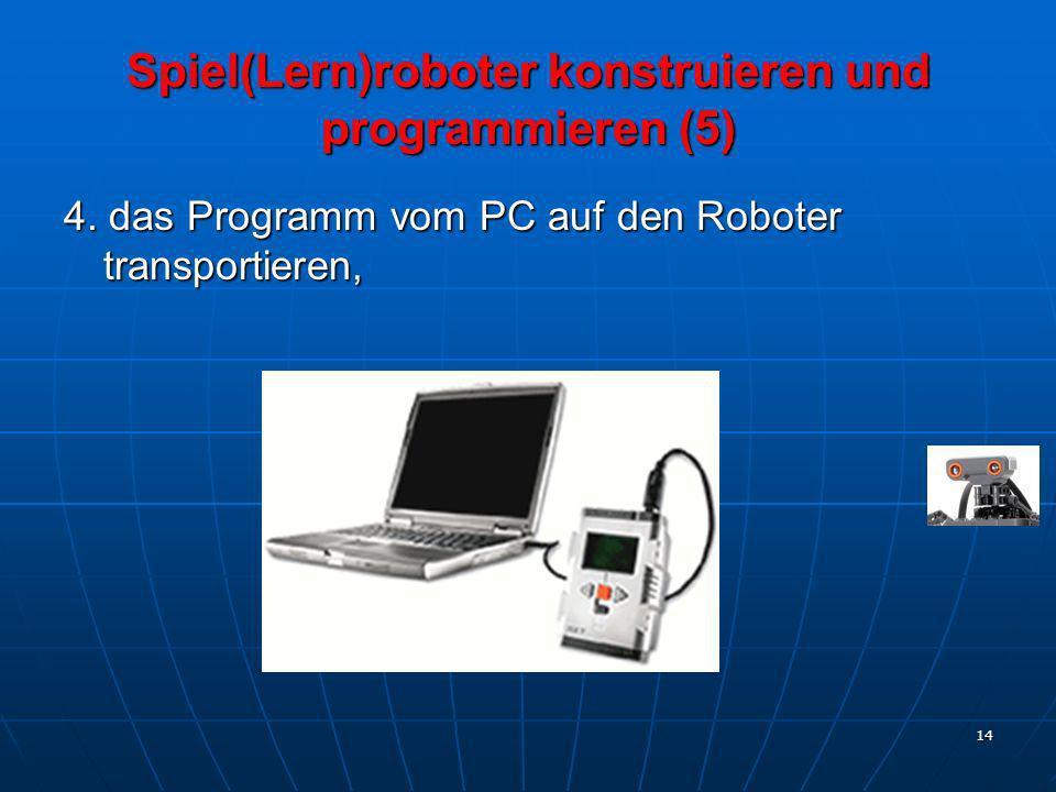 Spiel(Lern)roboter konstruieren und programmieren (5)
