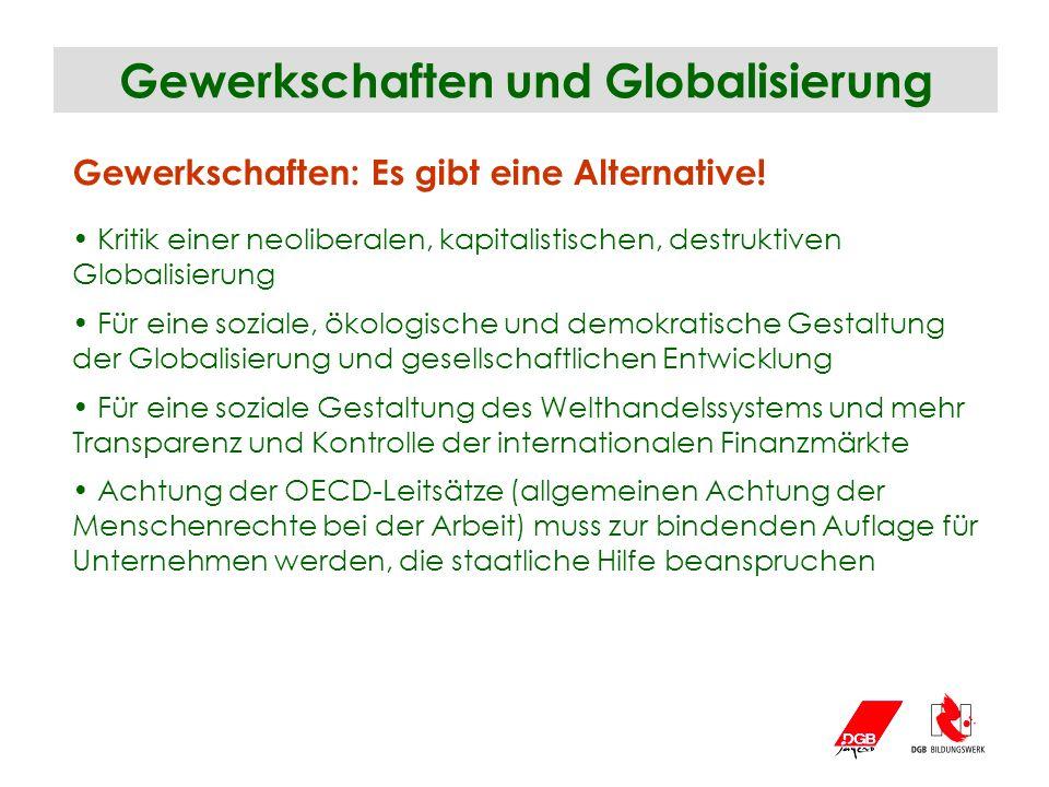 Gewerkschaften und Globalisierung