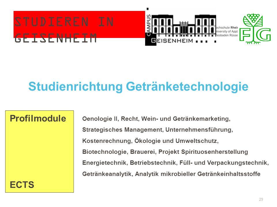Studieren in Geisenheim