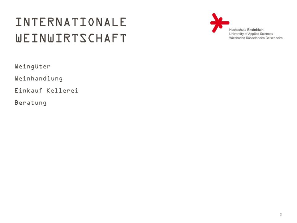 Internationale Weinwirtschaft