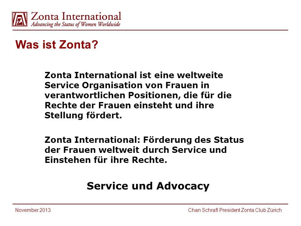 Was ist Zonta Service und Advocacy