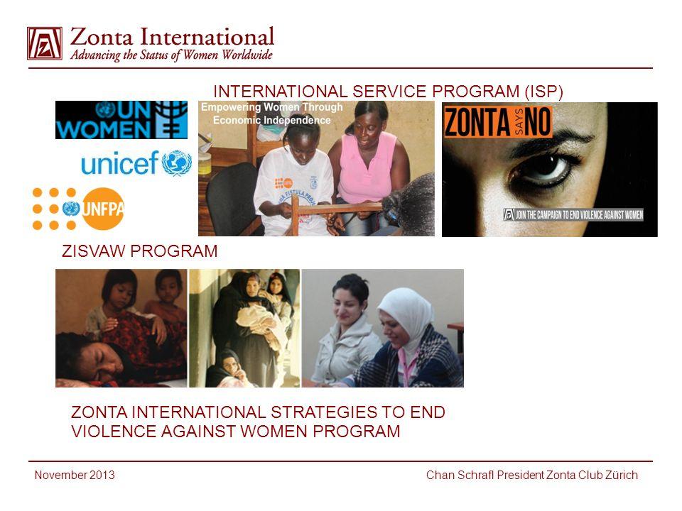 INTERNATIONAL SERVICE PROGRAM (ISP)