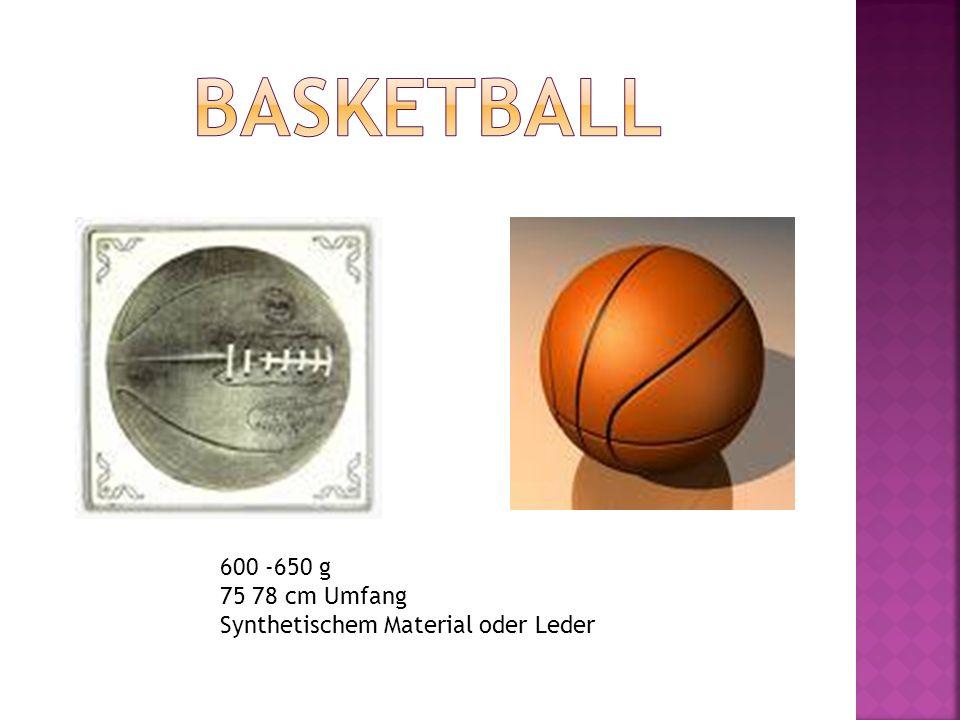 Basketball 600 -650 g 75 78 cm Umfang