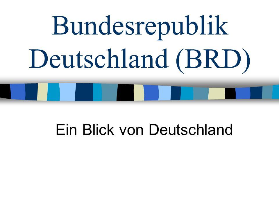 Bundesrepublik Deutschland (BRD)