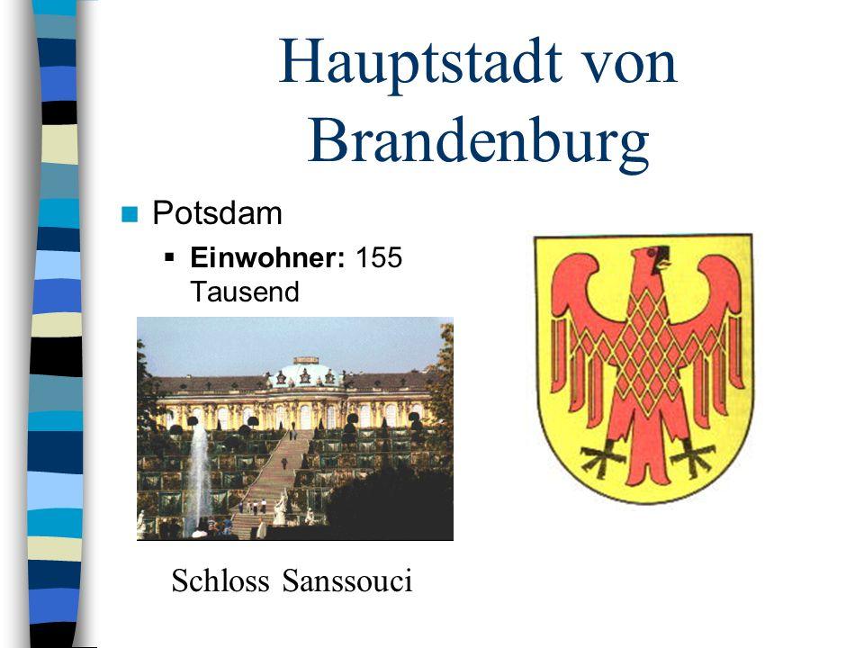 Hauptstadt von Brandenburg