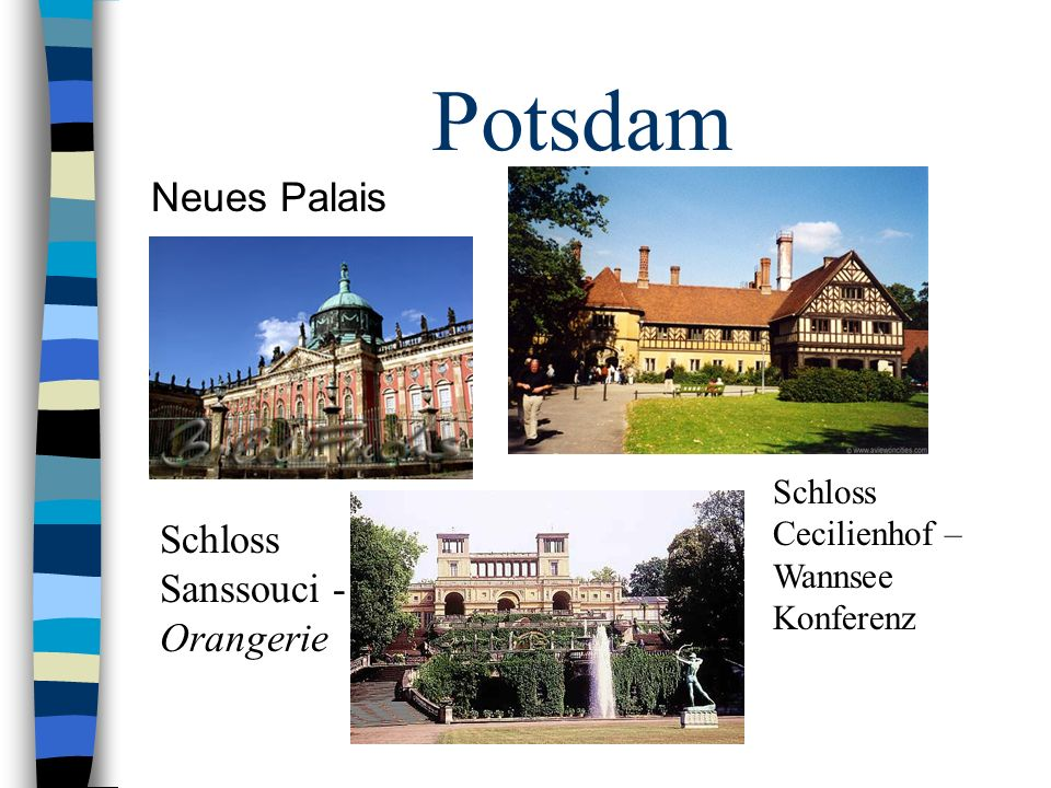 Potsdam Neues Palais Schloss Sanssouci - Orangerie