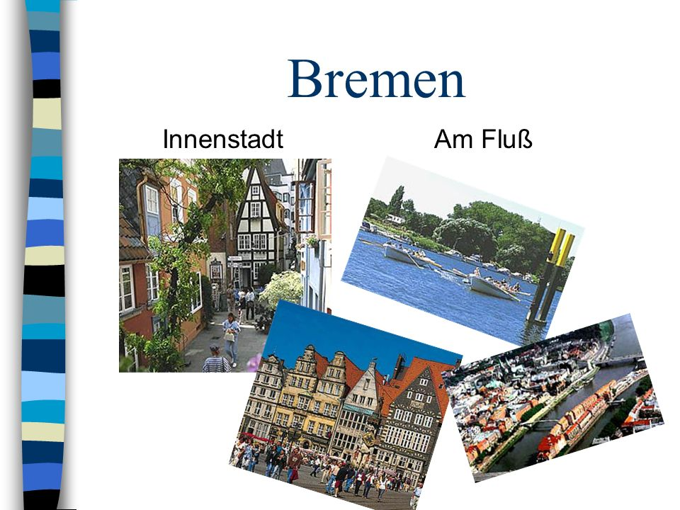 Bremen Innenstadt Am Fluß