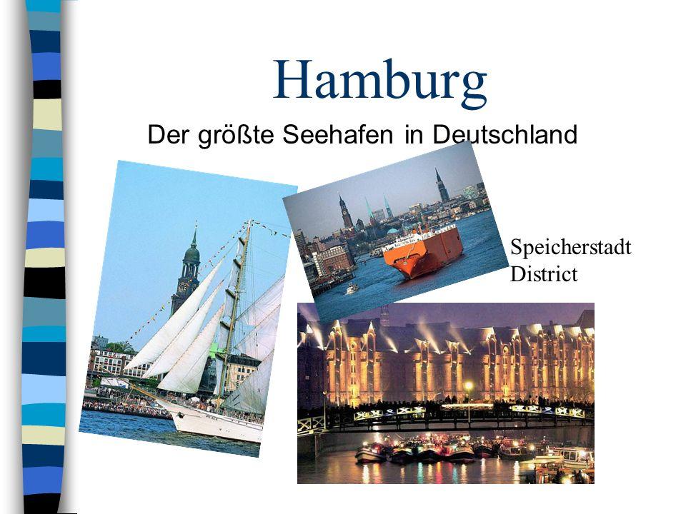 Der größte Seehafen in Deutschland