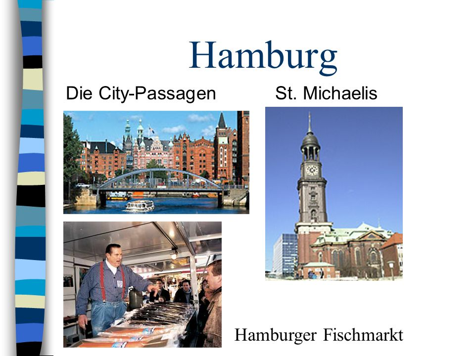 Hamburg Die City-Passagen St. Michaelis Hamburger Fischmarkt