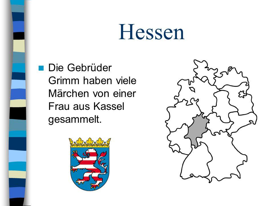 Hessen Die Gebrüder Grimm haben viele Märchen von einer Frau aus Kassel gesammelt.