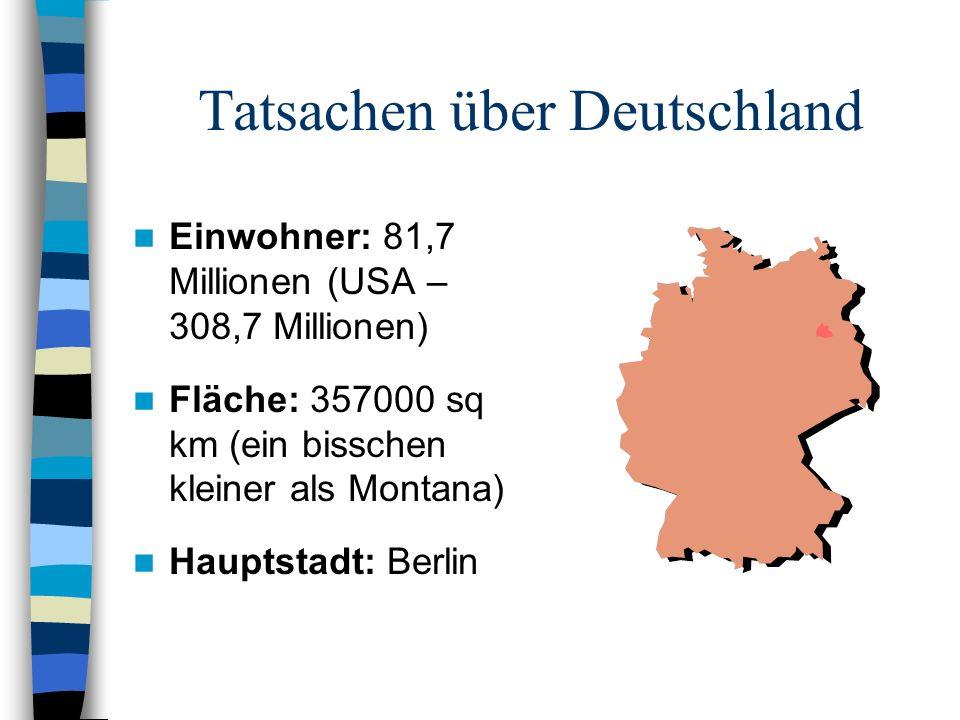 Tatsachen über Deutschland