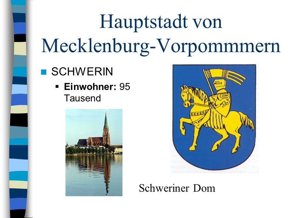 Hauptstadt von Mecklenburg-Vorpommmern
