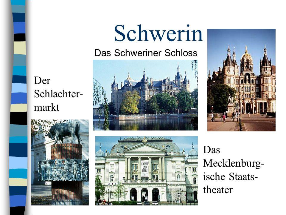 Schwerin Der Schlachter-markt Das Mecklenburg-ische Staats-theater
