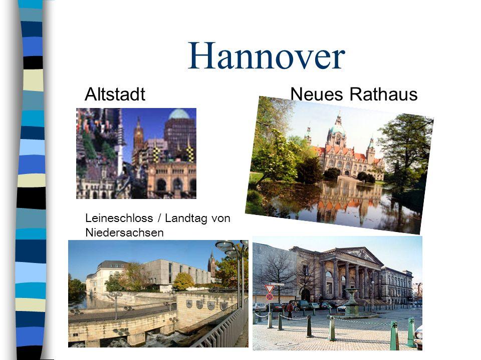 Hannover Altstadt Neues Rathaus