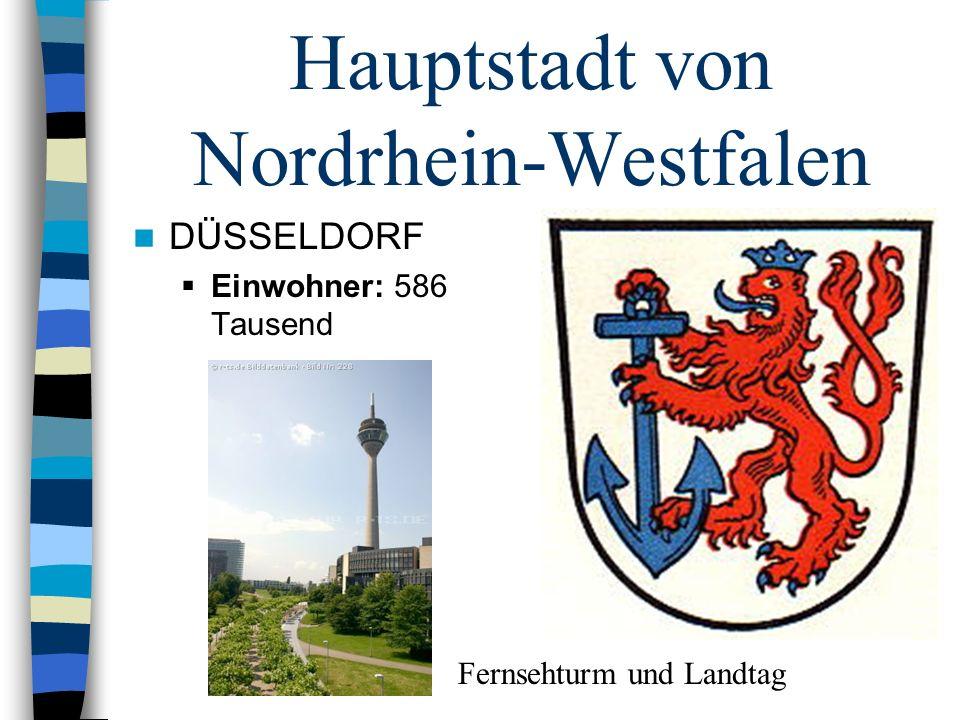 Hauptstadt von Nordrhein-Westfalen