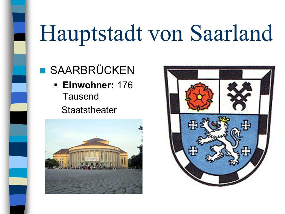 Hauptstadt von Saarland