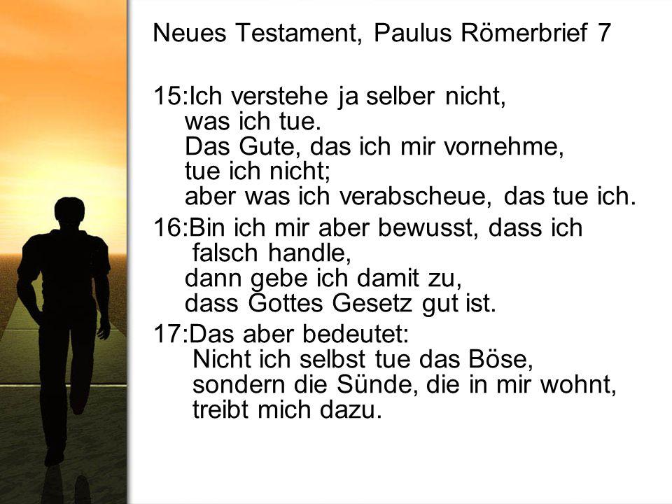 Neues Testament, Paulus Römerbrief 7