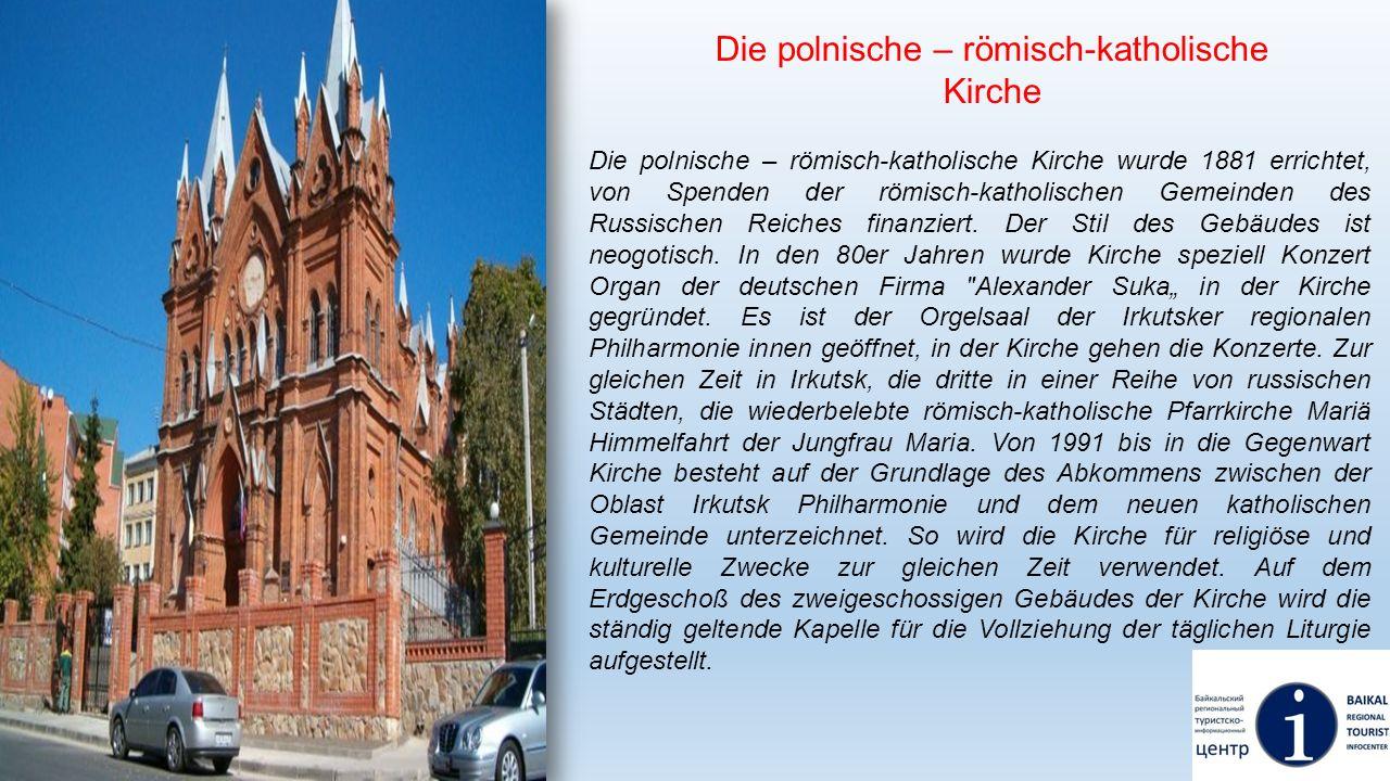 Die polnische – römisch-katholische Kirche