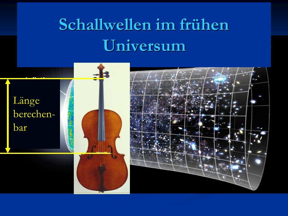 Schallwellen im frühen Universum