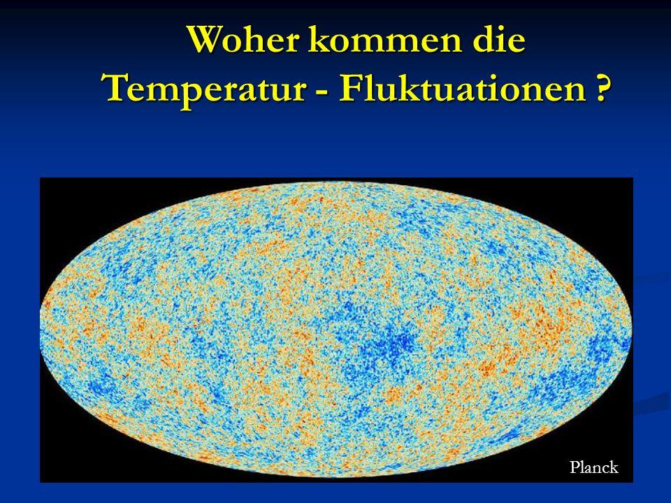 Temperatur - Fluktuationen