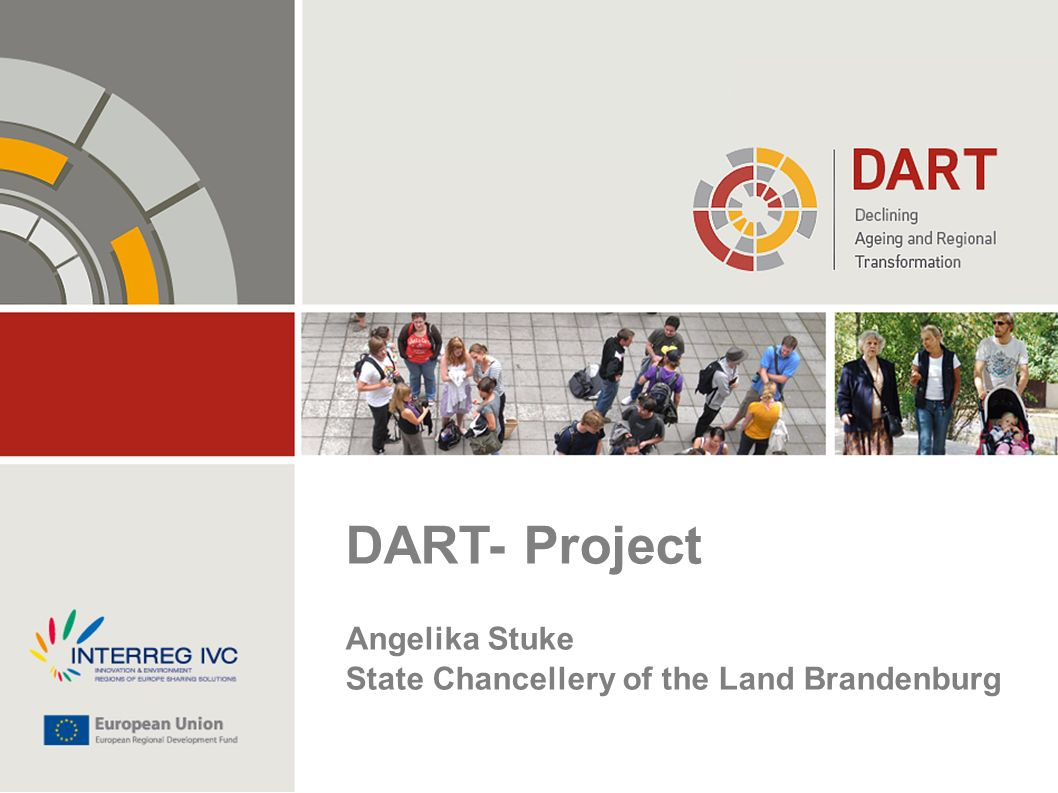 DART- Project Angelika Stuke State Chancellery of the Land Brandenburg