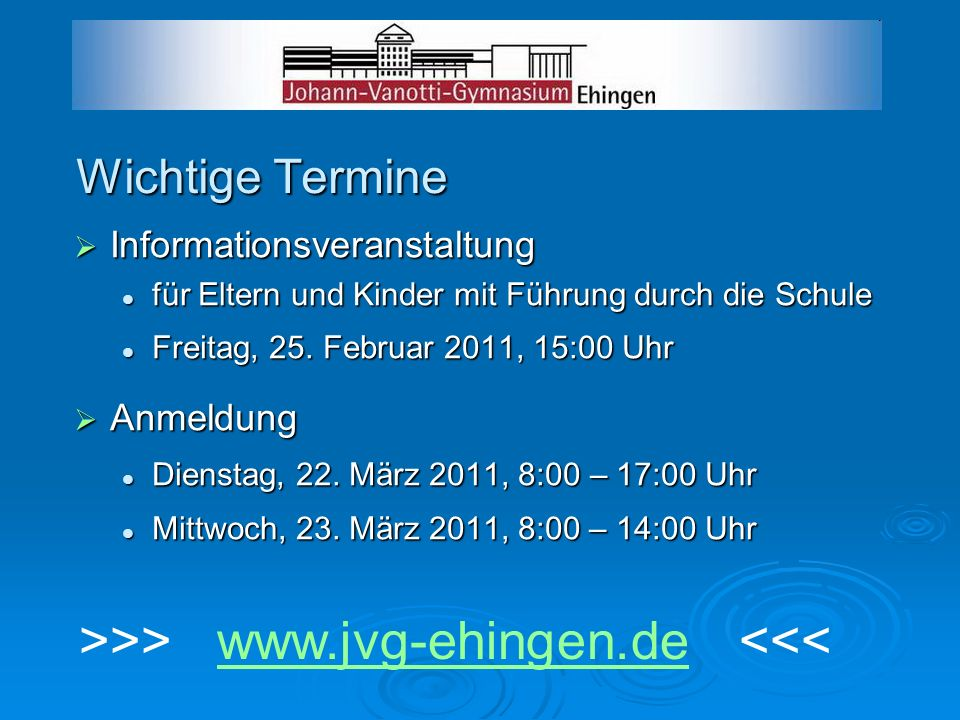 >>> www.jvg-ehingen.de <<<