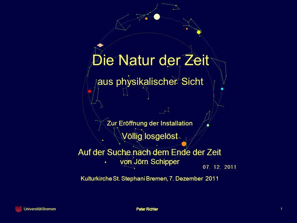 Die Natur der Zeit aus physikalischer Sicht von Jörn Schipper