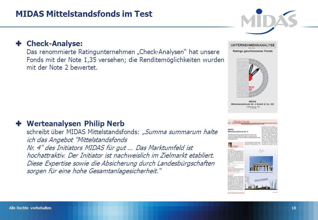 MIDAS Mittelstandsfonds im Test