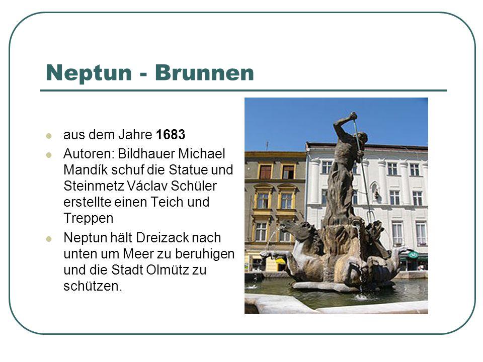 Neptun - Brunnen aus dem Jahre 1683