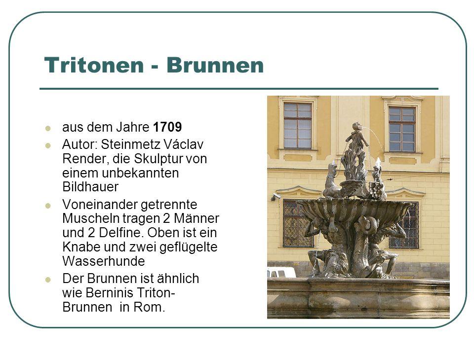 Tritonen - Brunnen aus dem Jahre 1709
