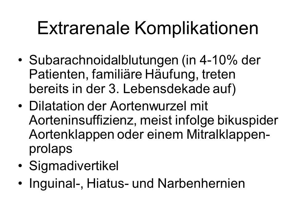 Extrarenale Komplikationen