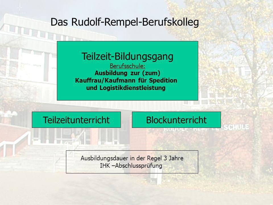 Kauffrau/Kaufmann für Spedition und Logistikdienstleistung