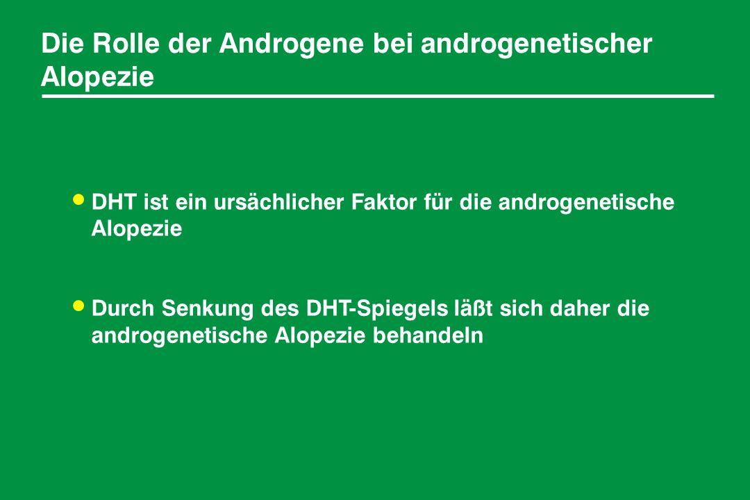 Die Rolle der Androgene bei androgenetischer Alopezie