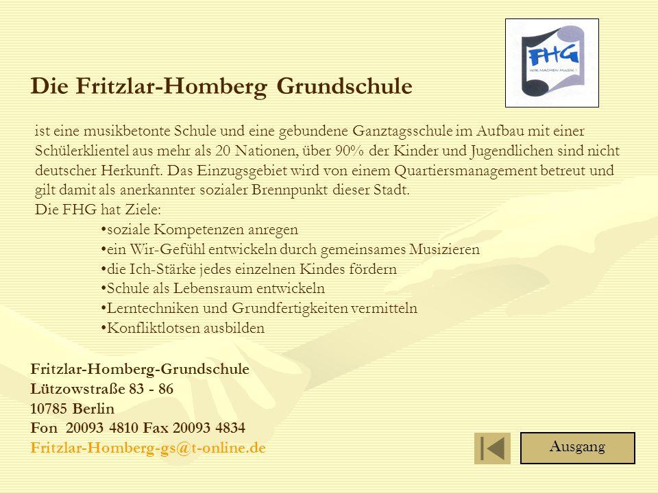 Die Fritzlar-Homberg Grundschule