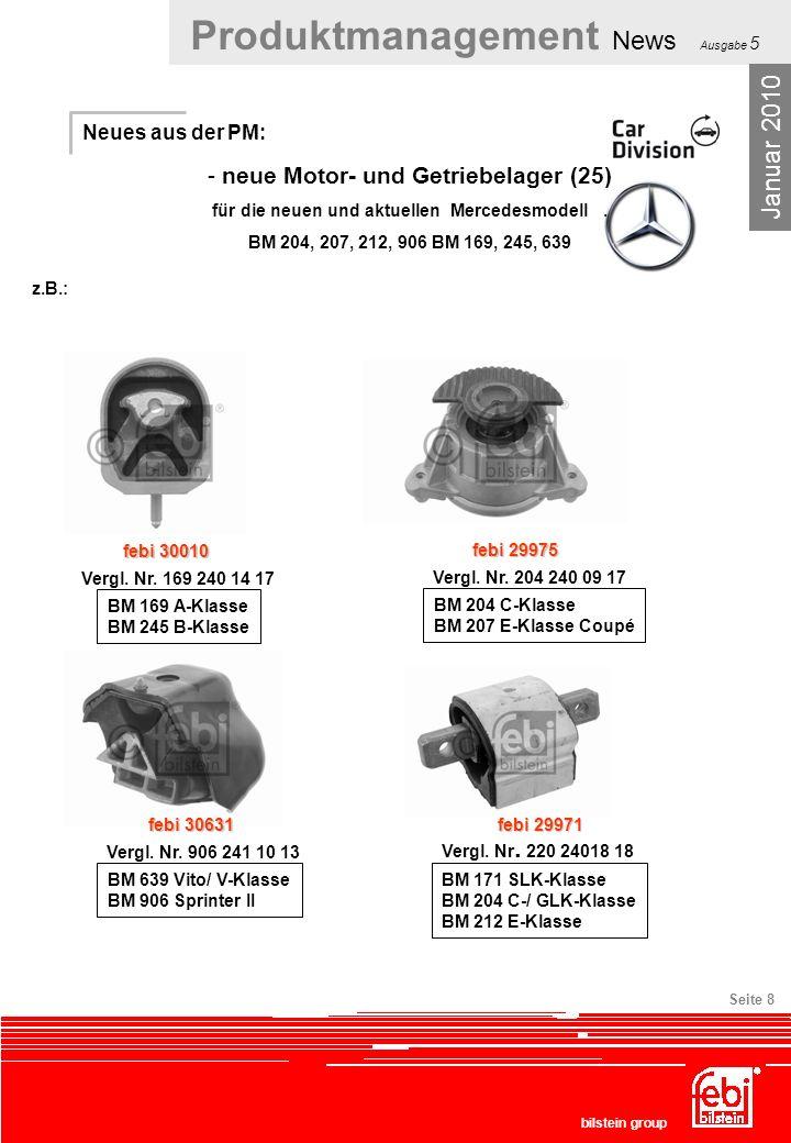 Januar 2010 neue Motor- und Getriebelager (25) Neues aus der PM:
