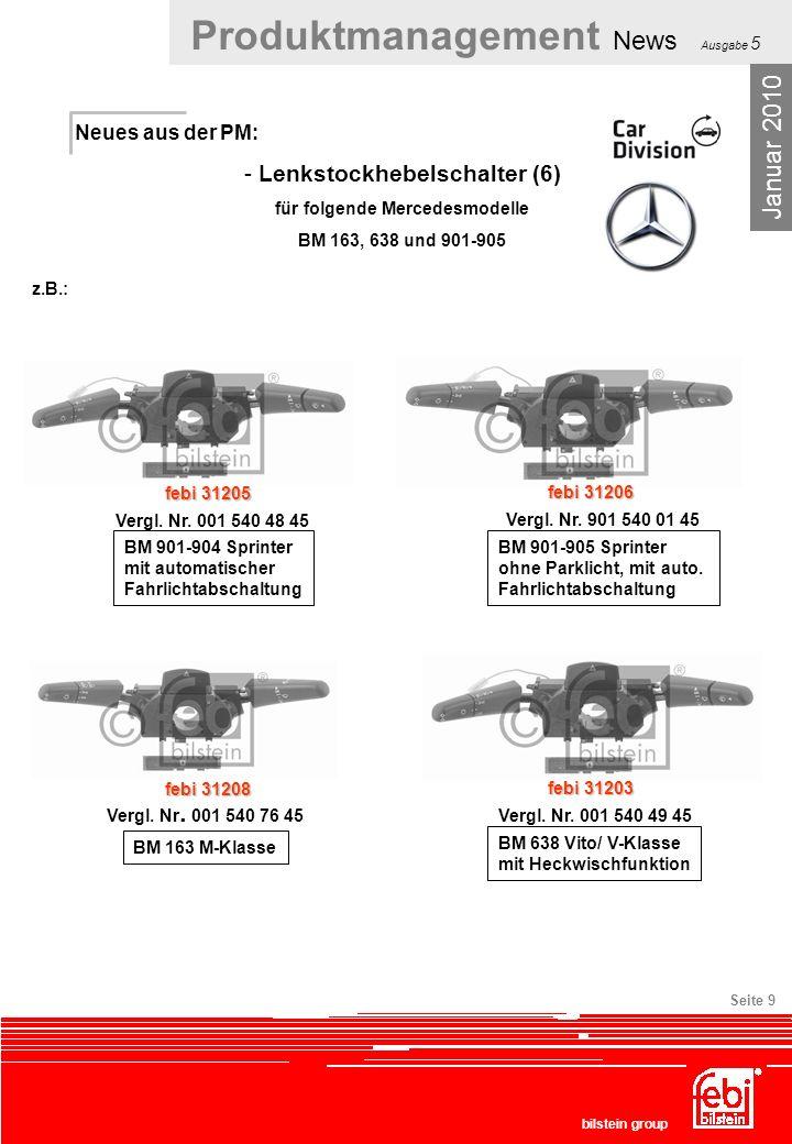 Lenkstockhebelschalter (6) für folgende Mercedesmodelle