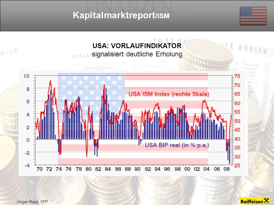 Kapitalmarktreport/ISM USA: VORLAUFINDIKATOR
