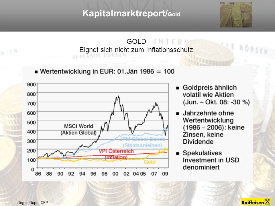 Kapitalmarktreport/Gold