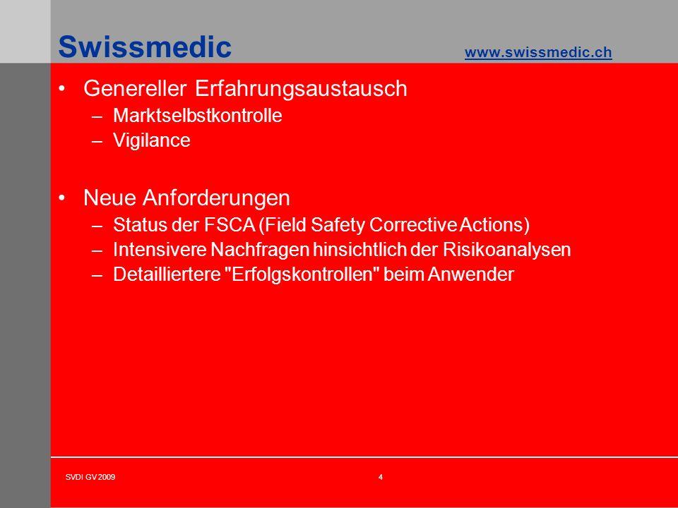 Swissmedic www.swissmedic.ch
