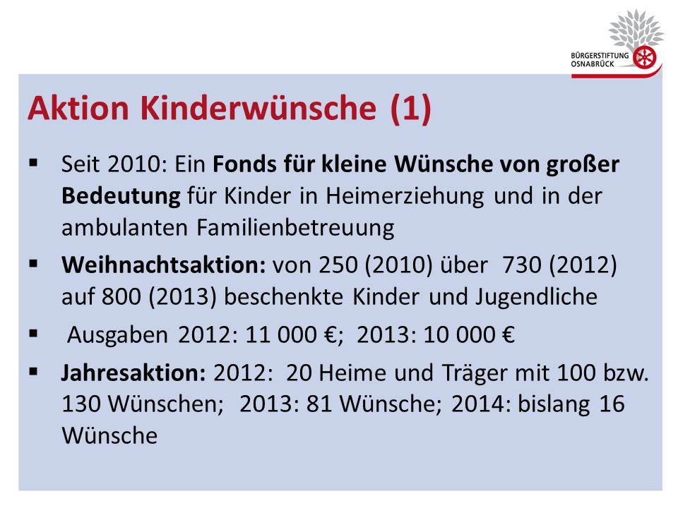 Aktion Kinderwünsche (1)