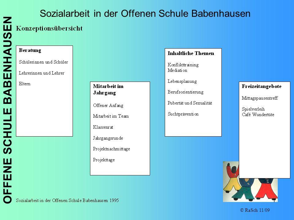 Sozialarbeit in der Offenen Schule Babenhausen