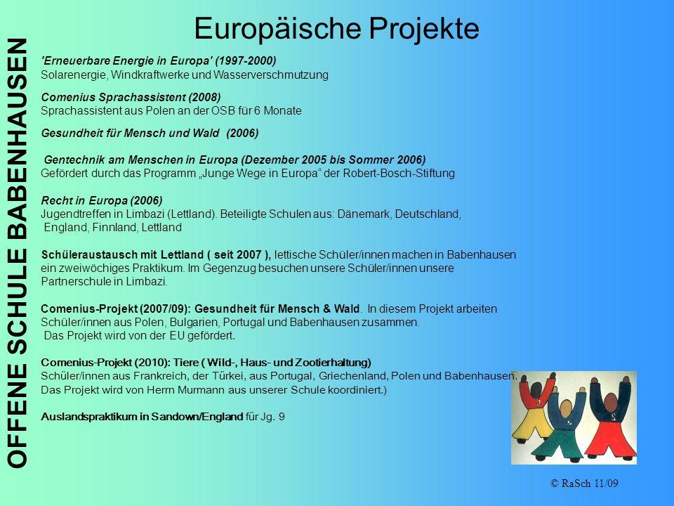 Europäische Projekte Erneuerbare Energie in Europa (1997-2000)