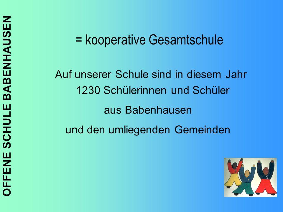 = kooperative Gesamtschule