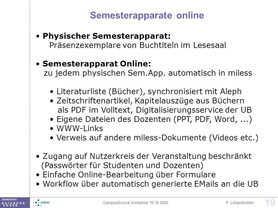 Semesterapparate online